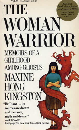 the issue of maxine kingstons identity in the book woman warrior The woman warrior by maxine hong kingston is a novel whose the book revives the lost voices of the and creates identity by lingering more upon the.